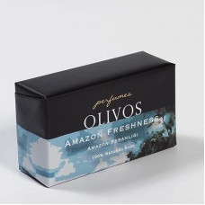 Натуральное оливковое мыло Olivos Perfumes series Amazon Freshness  250 гр