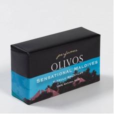 Натуральное оливковое мыло Olivos Perfumes series Sensational Maldives  250 гр