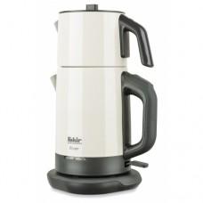 Двухуровневый электрический чайник RIVER TEA MAKER beige 1,75l