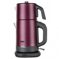 Двухуровневый электрический чайник RIVER TEA MAKER violet 1,75l