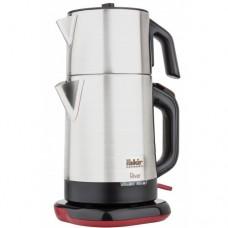 Двухуровневый электрический чайник RIVER TEA MAKER grey 1,75l