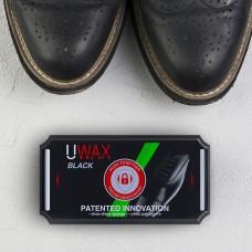 UWAX FAMILY губка чорна для гладкої шкіри