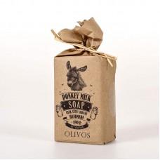Натуральное оливковое мыло Olivos Donkey milk  180 гр