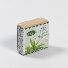 Натуральное оливковое мыло Olivos Herbs & Fruits series with Aloe Vera  126 гр